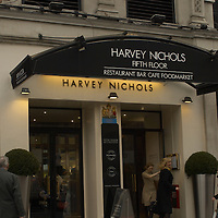 Harvey Nichols department store, flagship store in Knightsbridge, London