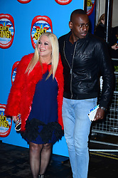 Vanessa Feltz attends the press night performance of 'I Can't Sing! The X Factor Musical' at the London Palladium, London, United Kingdom. Wednesday, 26th March 2014. Picture by Nils Jorgensen / i-Images