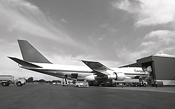 Jet Cargo Planes Being Fueled, Color and B/W Images