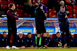 Nottingham Forest Assistant Manager argues with Aston Villa Assistant Manager John Terry - Mandatory by-line: Robbie Stephenson/JMP - 13/03/2019 - FOOTBALL - The City Ground - Nottingham, England - Nottingham Forest v Aston Villa - Sky Bet Championship