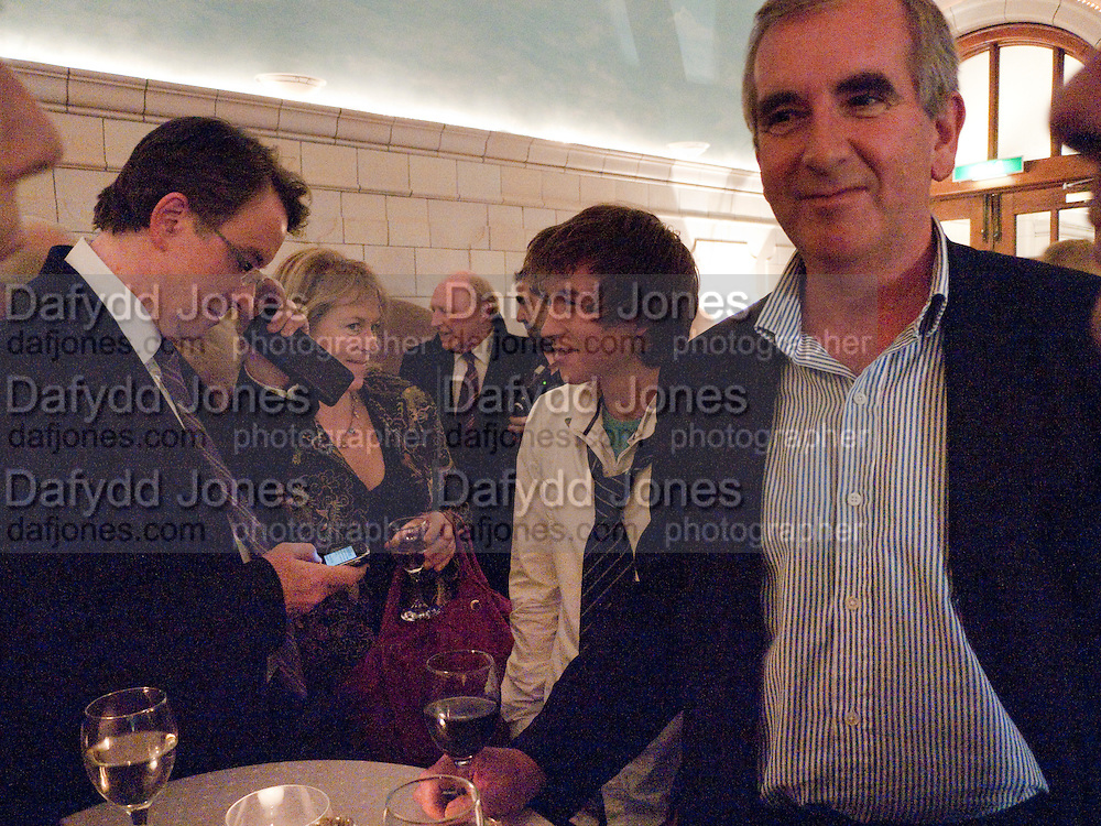 LORD MANDELSON; HANNAH ROTHSCHILD; NEIL KINNOCK; CHARLIE HARRIS; ROBERT HARRIS, Special preview screening of the Ghost. Introduced by the book's author Robert Harris. The Courthouse Hotel Great Marlborough St. London. 30 March 2010.