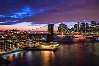 Dumbo, Brooklyn Bridge & Lower Manhattan