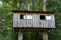 Tree house at Arthur Morgan School near Burnsville, North Carolina. Image taken with a Leica T camera and 35 mm f/1.4 lens.