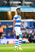 QPR (40) Idrissa Sylla during the EFL Sky Bet Championship match between Queens Park Rangers and Fulham at the Loftus Road Stadium, London, England on 29 September 2017. Photo by Sebastian Frej.