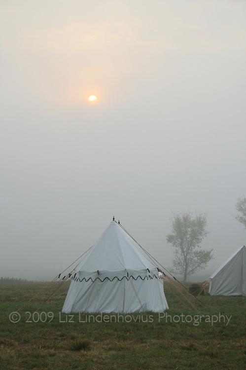 Tent at Dawn