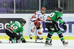 27.02.2015, Hala Tivoli, Ljubljana, SLO, EBEL, HDD Telemach Olimpija Ljubljana vs HC TWK Innsbruck, 6. Qualification Round, in picture Alexander Höller (HC TWK Innsbruck, #11) during the Erste Bank Icehockey League 6. Qualification Round between HDD Telemach Olimpija Ljubljana and HC TWK Innsbruck at the Hala Tivoli, Ljubljana, Slovenia on 2015/02/27. Photo by Morgan Kristan / Sportida