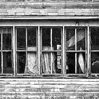 Abandoned building in McHenry County USA
