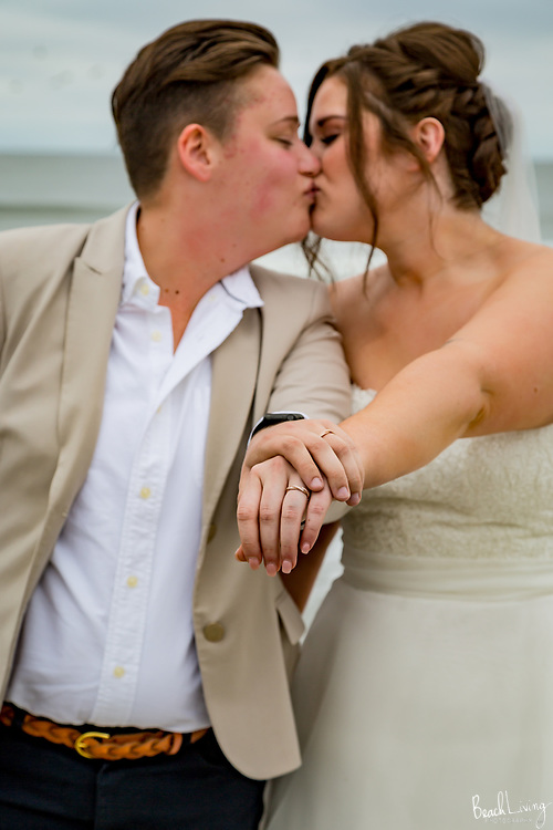 Meg and Amanda Wedding, OIB Memory Maker, NC October 15, 2017
