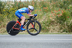Rozanne Slik (NED) at Lotto Thuringen Ladies Tour 2018 - Stage 7, an 18.7 km time trial starting and finishing in Schmölln, Germany on June 3, 2018. Photo by Sean Robinson/velofocus.com