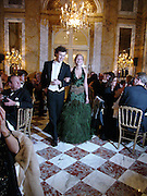Annabel Dexter-Jones and Dimitris Soutzo, Crillon 2004 Debutante Ball. Crillon Hotel. Paris. 26 November 2004. ONE TIME USE ONLY - DO NOT ARCHIVE  © Copyright Photograph by Dafydd Jones 66 Stockwell Park Rd. London SW9 0DA Tel 020 7733 0108 www.dafjones.com