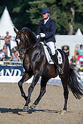 Anja Engelbart - De Champ OLD<br /> FEI World Breeding Dressage Championships for Young Horses 2012<br /> © DigiShots