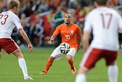 04-06-2014 NED: Vriendschappelijk Nederland - Wales, Amsterdam<br /> Nederland wint met 2-0 van Wales / Wesley Sneijder