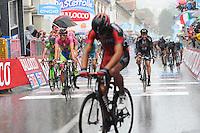 Gilbert Philippe - BMC  / Contador Alberto -  Tinkoff - Saxo - 21.05.2015 - Etape 12 du Giro 2015<br />Photo : Sirotti / Icon Sport *** Local Caption ***