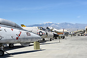 Vintage War Planes at Palm Springs Air Museum