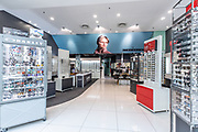 Image by Greg Beadle Retail architecture and headshots captured of optometrists at EyeQ stores. Image by Greg Beadle
