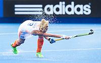 LONDON -  Unibet Eurohockey Championships 2015 in  London. Netherlands v Spain . Caia Van Maasakker  scores.   Copyright  KOEN SUYK