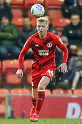 Leyton Orient midfielder Josh Wright (44) during the EFL Sky Bet League 2 match between Leyton Orient and Scunthorpe United at the Matchroom Stadium, London, England on 16 November 2019.