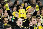 Phoenix Fan, A-League football pre season match - Wellington Phoenix v Brisbane Roar at Forsyth Barr Stadium, Dunedin, New Zealand on Saturday, 20 August 2011. Photo: Richard Hood/photosport.co.nz