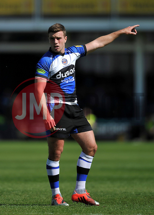 George Ford of Bath Rugby - Photo mandatory by-line: Patrick Khachfe/JMP - Mobile: 07966 386802 16/05/2015 - SPORT - RUGBY UNION - Bath - The Recreation Ground - Bath Rugby v Gloucester Rugby - Aviva Premiership