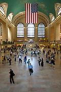 UNITED STATES-NEW YORK CITY-Grand Central Terminal. PHOTO: GERRIT DE HEUS.VERENIGDE STATEN-NEW YORK. Treinstation Grand Central Terminal. PHOTO COPYRIGHT GERRIT DE HEUS