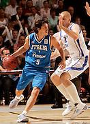 Finlandia, 12/08/2009<br /> Eurobasket Men 2009 Additional Qualifying Round Finlandia Italia <br /> Nella foto: Marco Mordente