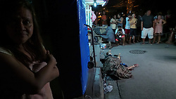 October 2, 2016 - Pasay, Philippines - (EDITOR'S NOTE: Image depicts death) A drug user was shot to death in Don Carlos St., Brgy. 189, Pasay City at around 1:30am. The scene became a media frenzy event for both local and foreign press, trying to scoop on the summary execution done by riding-in-tandem duo / vigilante group. (Credit Image: © Sherbien Dacalanio/Pacific Press via ZUMA Wire)