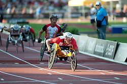 HUG Marcel, SUI, 5000m, T54, 2013 IPC Athletics World Championships, Lyon, France