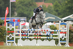 Ziems, Michael, L.B. Coco Jumper<br /> Elmshorn - Holsteiner Pferdetage<br /> Springen Klasse M Finale 5j.<br /> © www.sportfotos-lafrentz.de/ Stefan Lafrentz