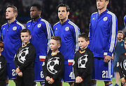Cesc Fabregas starts despite being listed as the player leading the revolt against Mourinhio during the Champions League group stage match between Chelsea and Dynamo Kiev at Stamford Bridge, London, England on 4 November 2015. Photo by Michael Hulf.