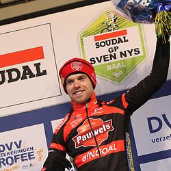 01-01-2020: Wielrennen: DVV trofee veldrijden: Baal:Eli Iserbyt blijft leider in de DVV Trofee