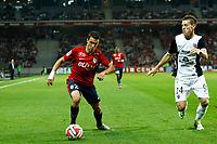 Sebastien Corchia (Lille) vs Gaetan Bussmann (FC Metz)