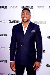 Anthony Joshua attending the Glamour Women of the Year Awards 2017 in association with Next, Berkeley Square Gardens, London. PRESS ASSOCIATION Photo. Picture date: Tuesday June 6, 2017. Photo credit should read: Ian West/PA Wire