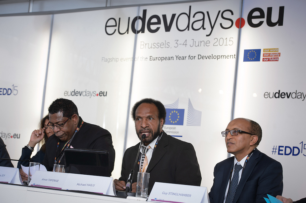 04 June 2015 - Belgium - Brussels - European Development Days - EDD - Climate - After Pam - Supporting the agri-food sectors in Vanuatu © European Union