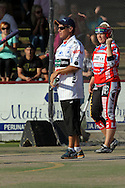 7.7.2010, Pori..Naisten Superpesis 2010, Porin Peskarhut - Turku..Kakkospelinjohtaja Petri Kaijansinkko - Peskarhut..