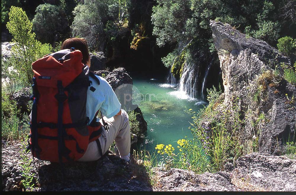 Cascada de Despeñaborricos, Peñalen. Parque Natural Alto Tajo. Guadalajara ©Antonio Real Hurtado Antonio Real Hurtado / PILAR REVILLA