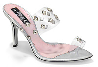 tracey ross silver studded shoe