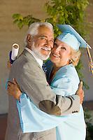 Senior Graduate and Husband