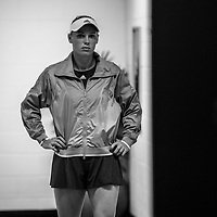 Caroline Wozniacki of Denmark ahead of the women's singles championship match during the 2018 Australian Open on day 13 in Melbourne, Australia on Saturday afternoon January 27, 2018.<br /> (Ben Solomon/Tennis Australia)