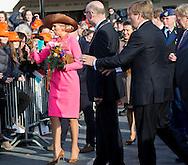 Krimpen aan den IJssel , 21-2-2017 <br /> <br /> King Willem-Alexander and Queen Maxima visit Krimpernerwaard.<br /> <br /> ONLY PUBLICATION IN FRANCE<br /> <br /> <br /> COPYRIGHT: ROYALPORTRAITS EUROPE/ BERNARD RUEBSAMEN