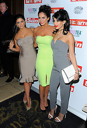 Casey Batchelor, Vicky Pattison and Jasmin Walia attend The Sun: Bizarre party at the Steam & Rye in London, UK. 02/03/2015<br /> BYLINE MUST READ : GOTCHAIMAGES.COM<br /> <br /> Copyright by © Gotcha Images Ltd. All rights reserved.<br /> Usage of this image is conditional upon the acceptance <br /> of Gotcha Images Ltd, terms and conditions available at<br /> www.gotchaimages.com