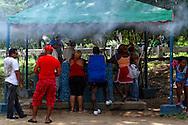 Cafe in Bayamo, Granma, Cuba.