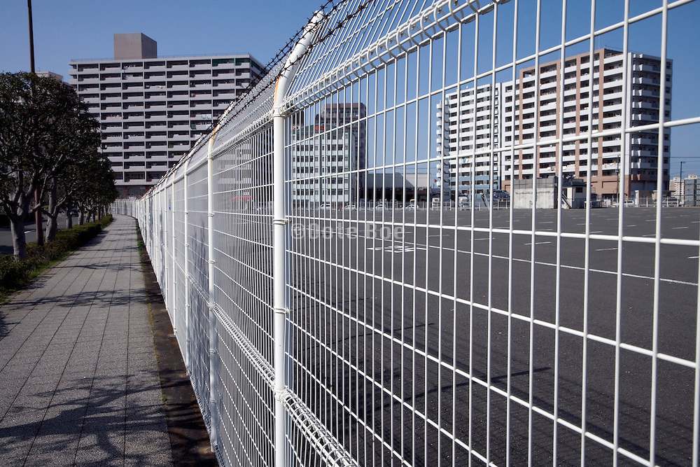 high rise residential flats in Yokosuka Japan