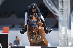 Andersson Petronella, (SWE), Norlam des Etisses<br /> Prix Pivotal<br /> Knokke Hippique 2015<br /> © Hippo Foto - Dirk Caremans<br /> 27/06/15