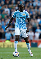 Manchester City's Yaya Toure - Photo mandatory by-line: Matt Bunn/JMP - Tel: Mobile: 07966 386802 14/09/2013 - SPORT - FOOTBALL -  Britannia Stadium - Stoke-On-Trent - Stoke City V Manchester City - Barclays Premier League