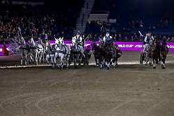 Exell Boyd, AUS, Degrieck Dries, BEL, Chardon Bram, NED, Chardopn Ijsbrandt, NED<br /> Jumping Mechelen 2019<br /> © Hippo Foto - Dirk Caremans<br />  30/12/2019