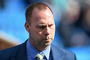 Notts County owner Alan Hardy during the EFL Sky Bet League 2 match between Chesterfield and Notts County at the b2net stadium, Chesterfield, England on 25 March 2018. Picture by Jon Hobley.