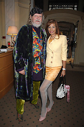 The MARQUESS OF BATH and MISS TRUDI JUGGERNAUT-SHARMA at a private view of portraits, Still-Lives and Statues by artists Barbara Kaczmarowska Hamilton and Simon Boudard held at Partridge Fine Art Ltd, New Bond Street, London on 16th May 2007.<br /><br />NON EXCLUSIVE - WORLD RIGHTS