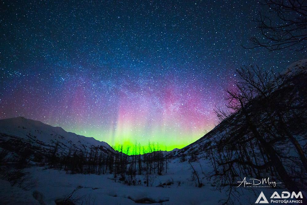 Aurora Borealis near Hatcher Pass