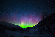Aurora Borealis near Hatcher Pass
