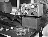 1958 - 16/04 Arms and Radio Transmitter Seized by Gardai